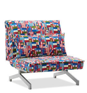 Multipurpose Fabric Sofa Chair Also Extra Bed pictures & photos