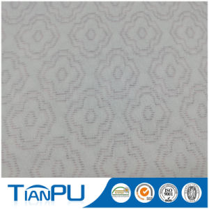 180-550GSM Customized Jacquard Logo Available Fire Retarded (other treatment available) Mattress Ticking Fabric Tp233 pictures & photos