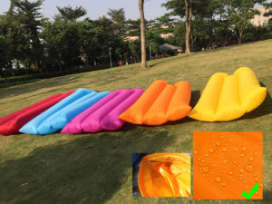 Single Layer Inflatable Lazy Outdoor Sleeping Sofa (C328) pictures & photos