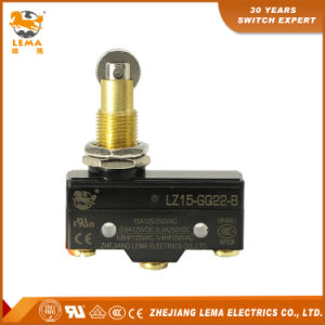 Factory Directly Sale Lz15-Gq22-B Panel Mount Long Plunger Micro Switch pictures & photos