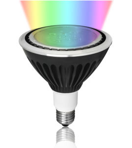 Outdoor PAR38 RGB Spotlight with Bluetooth Control pictures & photos