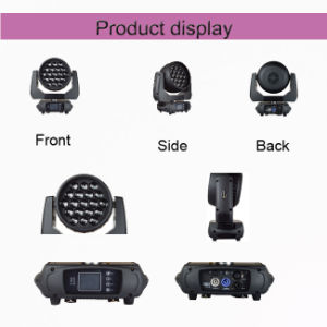19*15W Mini LED Moving Head Wash Zoom for Stage pictures & photos