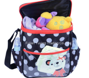 Multifunction Mixed Colour Mom Shoulder Bag with Big Capacity Volume pictures & photos