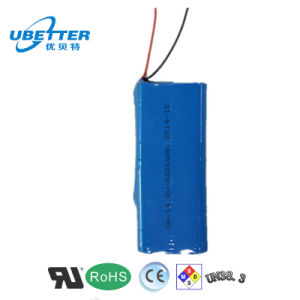 18650 14.8V/6.6ah Lithium Ion Battery for LED Light pictures & photos