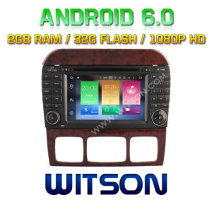 Witson Octa-Core (Eight Core) Android 6.0 Car DVD for Mercedes-Benz S Class 2g ROM 1080P Touch Screen 32GB ROM pictures & photos