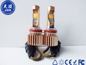 Golden Color of Fog H11 LED Car Headlight with 3000K Color Temp Light pictures & photos