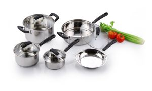 9PCS Stainless Steel Cookware Set pictures & photos