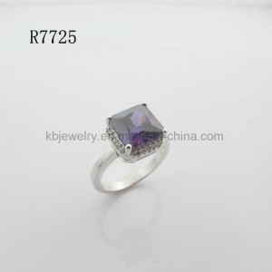 Pure 925 Sterling Silver Jewelry Gemstone Finger Ring for Lady (R7725) pictures & photos