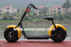 1000W 48V 12ah Lithium Battery Electric Citycoco Style Scooter pictures & photos