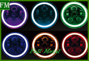 Wrangler Phone Control Color Changing RGB LED Headlamp for Jeep pictures & photos