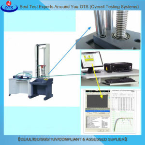 High Precision Double Column Electronic Tape Peel Material Tensile Strength Tester pictures & photos