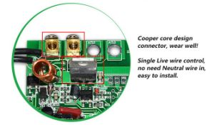 1-Gang Double Wire High Power Switch pictures & photos