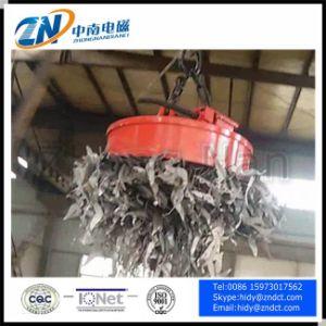 Crane Steel Scrap Lifting Magnet MW5-120L/1 pictures & photos