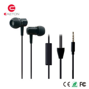 Factory Wholesale Stereo Metal Earphones pictures & photos