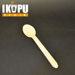 Wood Biodegradable Disposable Spoon pictures & photos