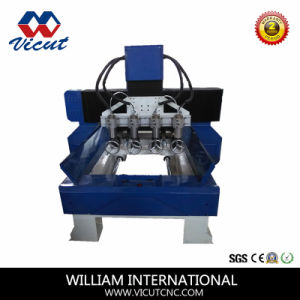 4 Axis Cylindrical Wood Engraver pictures & photos