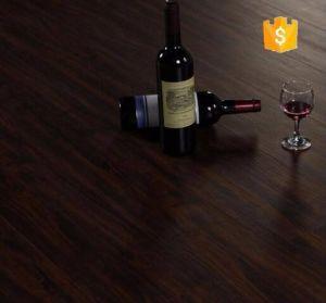 Retro Dark Wood Pattern Mulit-Color PVC Gloss Floor pictures & photos