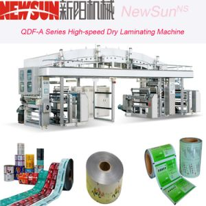 Qdf-a Series High-Speed Plastic Film Dry Lamination Machinery pictures & photos