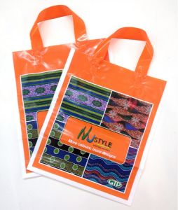 100% Eco-Friendly Materialloop Handle Shopping Bag pictures & photos