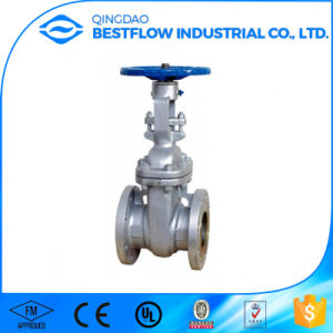 China Made Low Price Flange Type Marine Stainless Steel Gate Valve Pn25 pictures & photos
