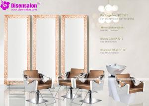 Popular High Quality Salon Mirror Barber Chair Salon Chair (P2031F) pictures & photos