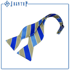 Bright Colored Yong Style Wholesale Men Silk Woven Bow Ties pictures & photos