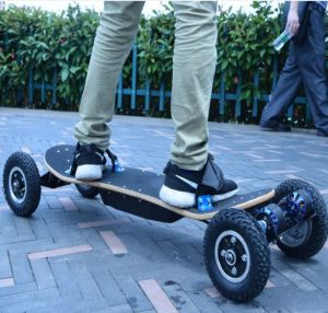 3300W Dual Belt Motor off Road Four Wheels Electric Skateboard pictures & photos