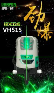 Hand Tools Laser Level Tool Multi Green Line Laser Vh515 Top Model of Danpon Laser pictures & photos