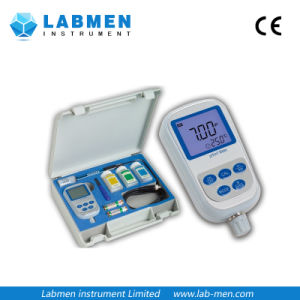 Portable pH Meter with Three-in-One Combination Orh Electrode pictures & photos