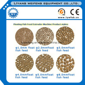 New Advanced Sinking Fish&Floating Fish Feed Machinery/Extruder machinery pictures & photos