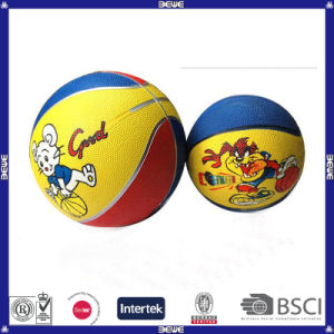 Good Quality OEM Printing Rubber Basketball for Kids pictures & photos