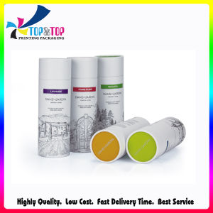 Skin Care and Cosmetics Use Paper Round Box pictures & photos