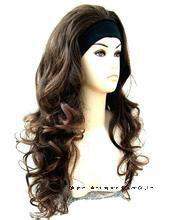 3/4 Wig Fall Hairpiece Wavy Layered Hair Piece pictures & photos