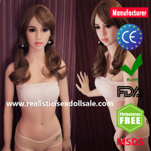 TPE Sex Dolls with Oral Vagina Anal Sex Toy for Men pictures & photos