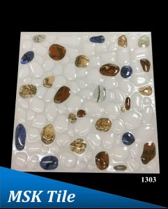 "12X12"" 5D Polished Crystal Pebbles Floor Tile 1303 pictures & photos"