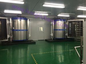 Vacuum Metallizing Automatic Painting Line for Plastic Parts pictures & photos