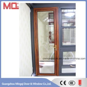 Exterior Aluminum Glass Doors with Security Steel Screen pictures & photos