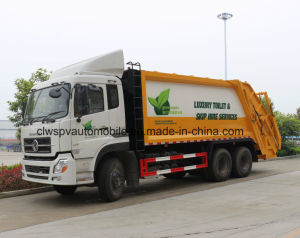 6X4 Customized 195kw Refuse Wagon 20t Compactor Garbage Truck Price pictures & photos