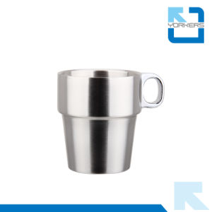 Multi-Functional 6 Pieces of Stainless Steel Coffee Mug & Milk Cup for Wholesale pictures & photos