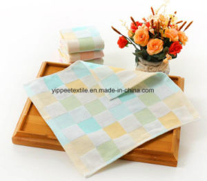 Yarn-Dyed Cotton Muslin Burp Cloth, Burp Towel pictures & photos