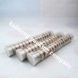Food Grade Clear Pet Plastic Cylinder for Candy Package pictures & photos