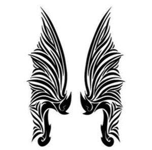 Fashionable Wings Waterproof Temporary Tattoo Stickers pictures & photos