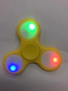 Hot Selling Customized LED Light Plastic Finger Spinner pictures & photos