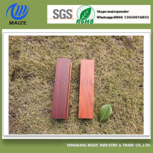 Wood Grain Effect Aluminum Powder Coating for Building Material Use pictures & photos