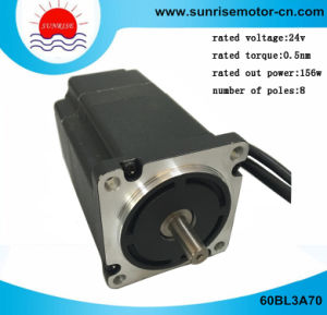 60bl3a70 BLDC Motor Electric Motor 48V 156W 3000rpm 0.5nm BLDC Motor pictures & photos