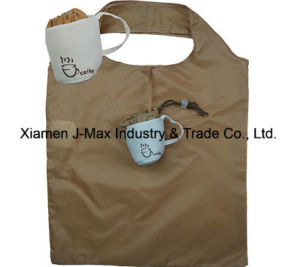Foldable Shopping Bag, Drink Coffee Cup Style, Reusable, Tote Bags, Promotion, Grocery Bags and Handy, Gifts, Lightweight, Accessories & Decoration pictures & photos