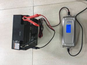 LCD Smart Battery Charger for Lead Acid Battery pictures & photos