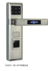 2016 Intelligent Door Locks Fingerprint Lock Password Lock (DAZZ1-Z8-DYB) pictures & photos