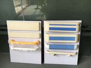 PVC and Aluminium Balcony Staircase Railing Plastic Handrail pictures & photos