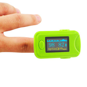 Promoting SpO2 Pr Monitor Fingertip Finger Pulse Oximeter Oximetry Oxygen Saturation-Fanny pictures & photos